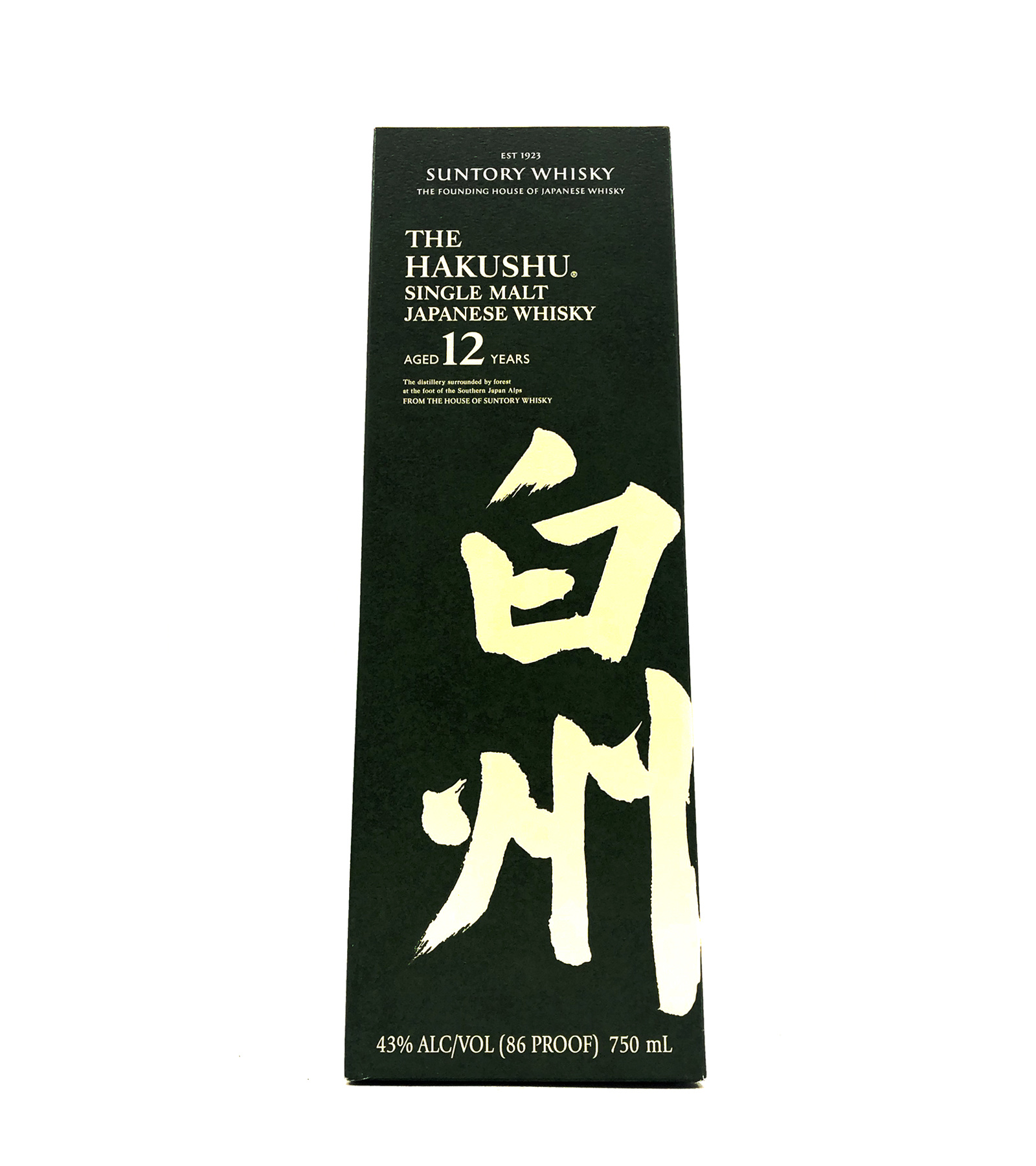 Single Malt Whisky 12 Year The Hakushu