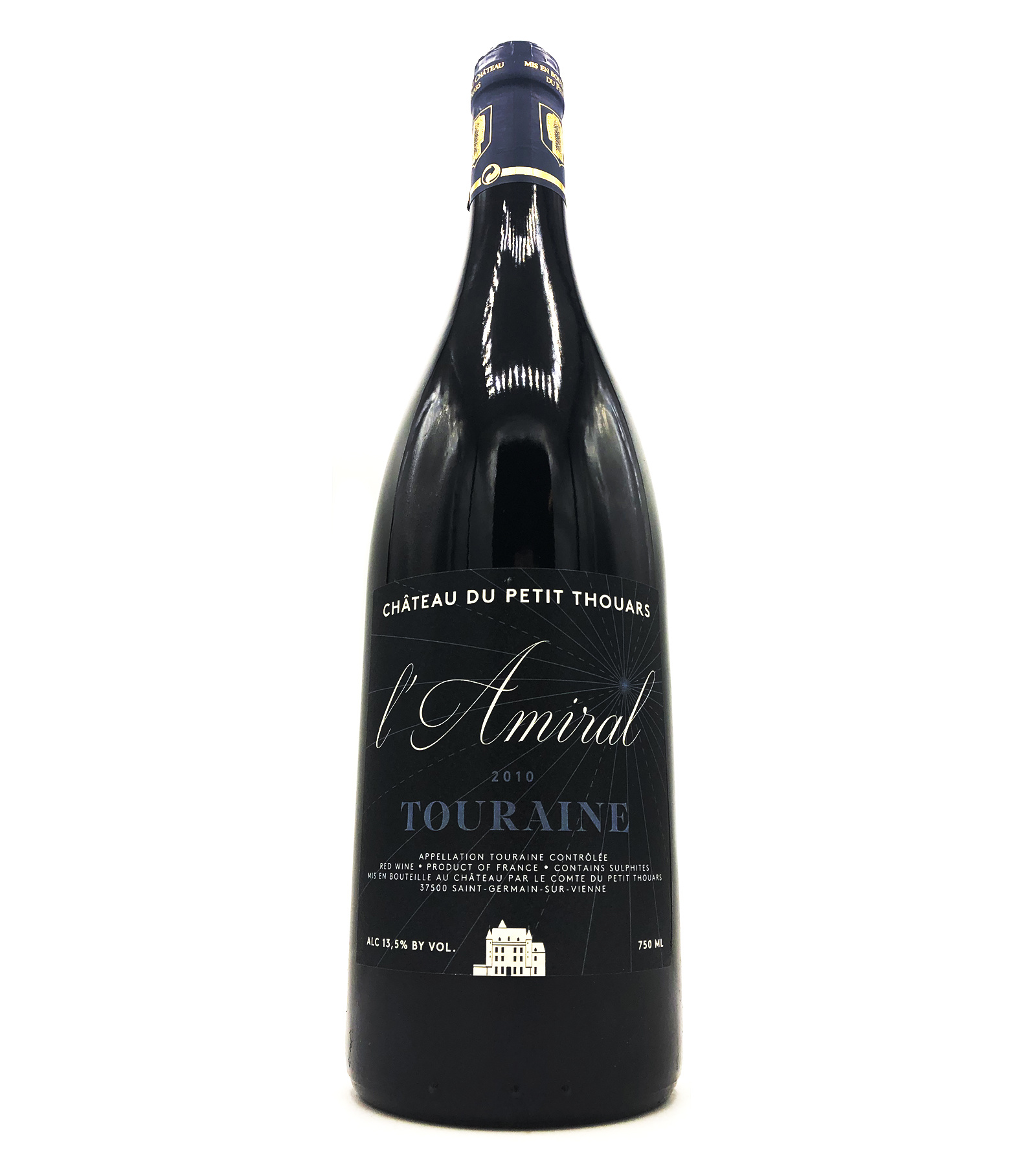 "Touraine Rouge ""L'Amiral"" 2010 Petit Thouars"