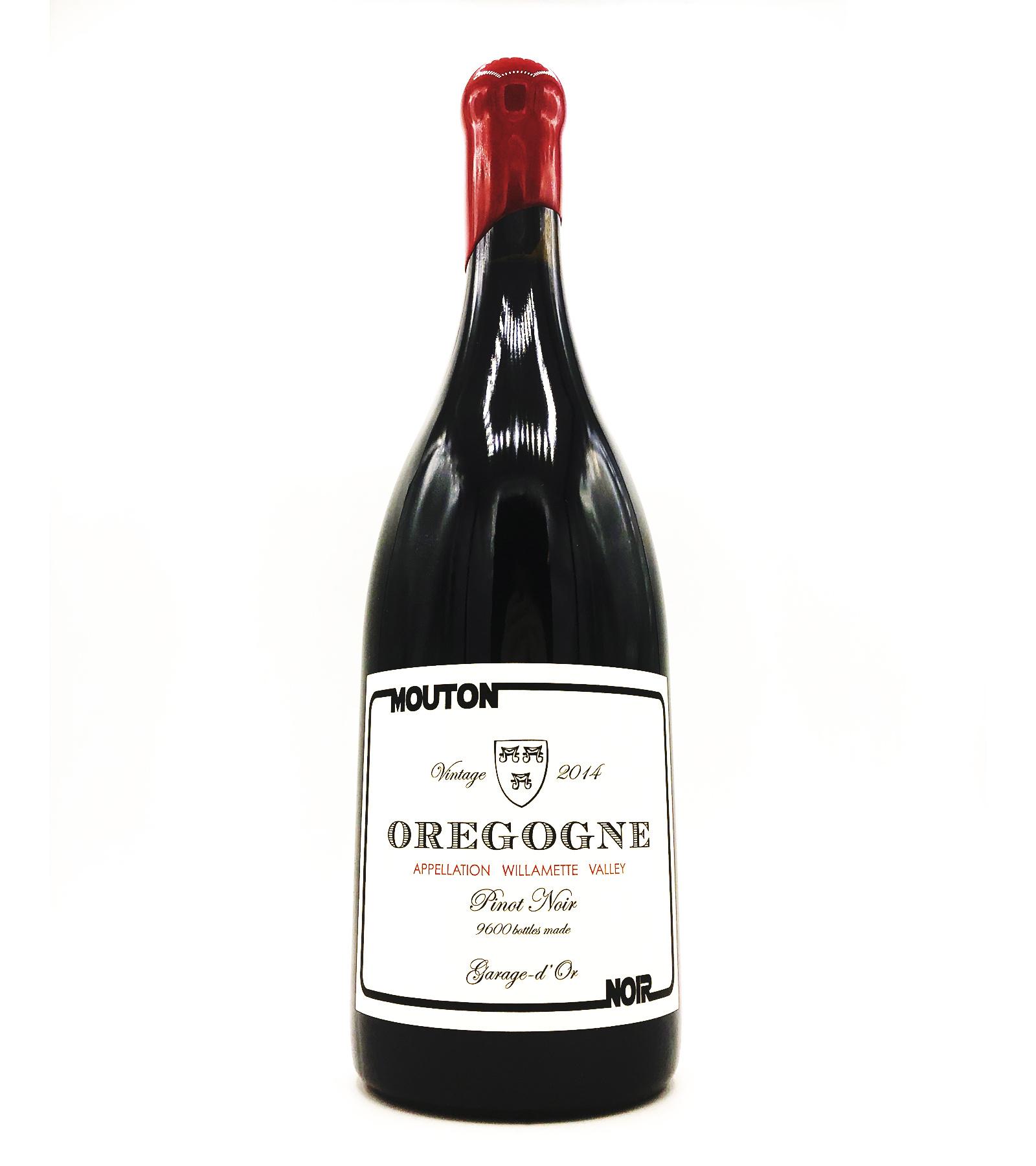 """Pinot Noir """"Oregogne"""" 2014 Mouton Noir"""