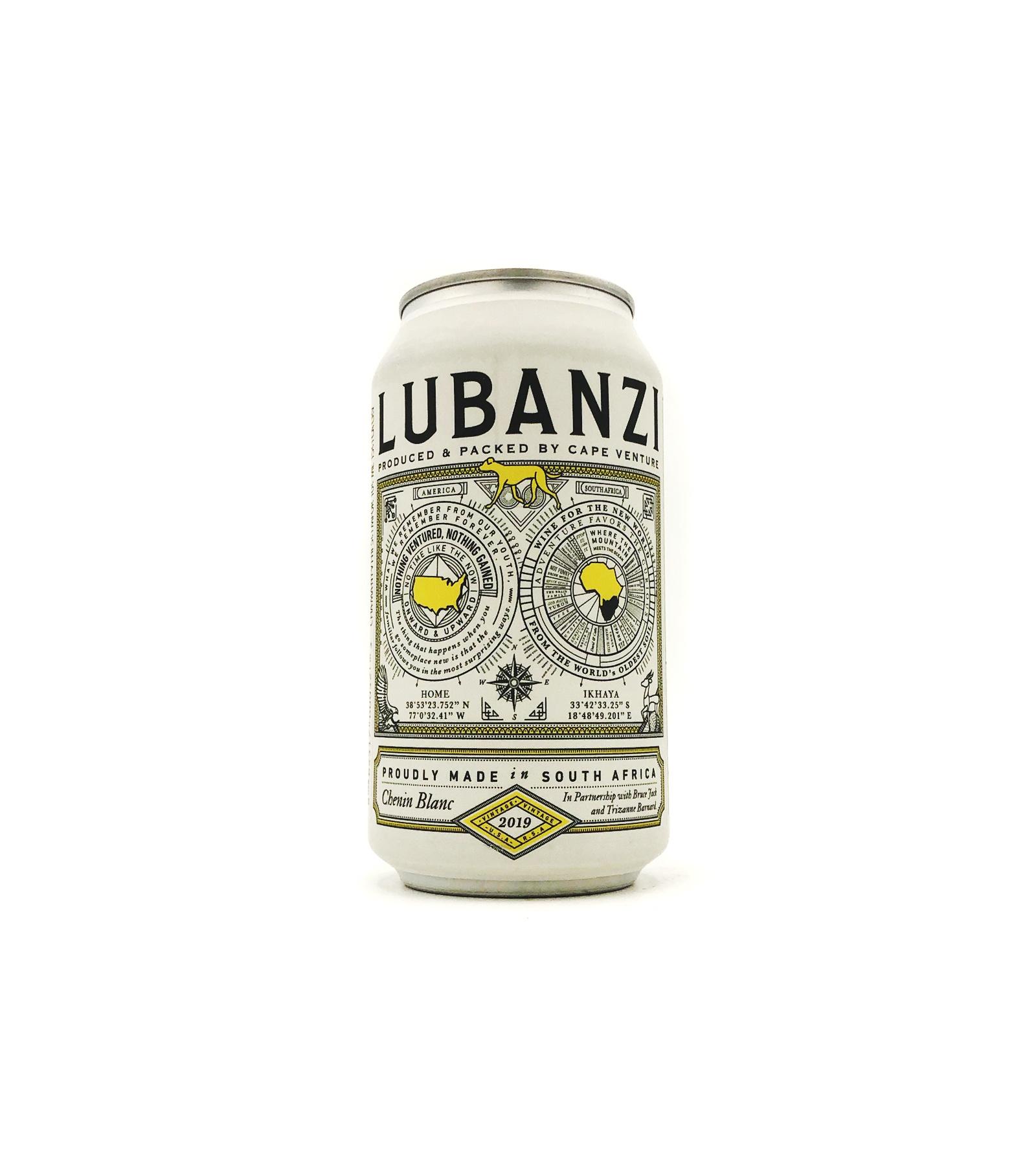 Chenin Blanc Swartland 375ml (can) Lubanzi