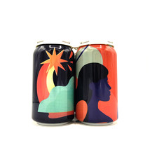 Pink Gin/Raspberry & Bitter Orange 12oz (can) Collective Arts Distilling