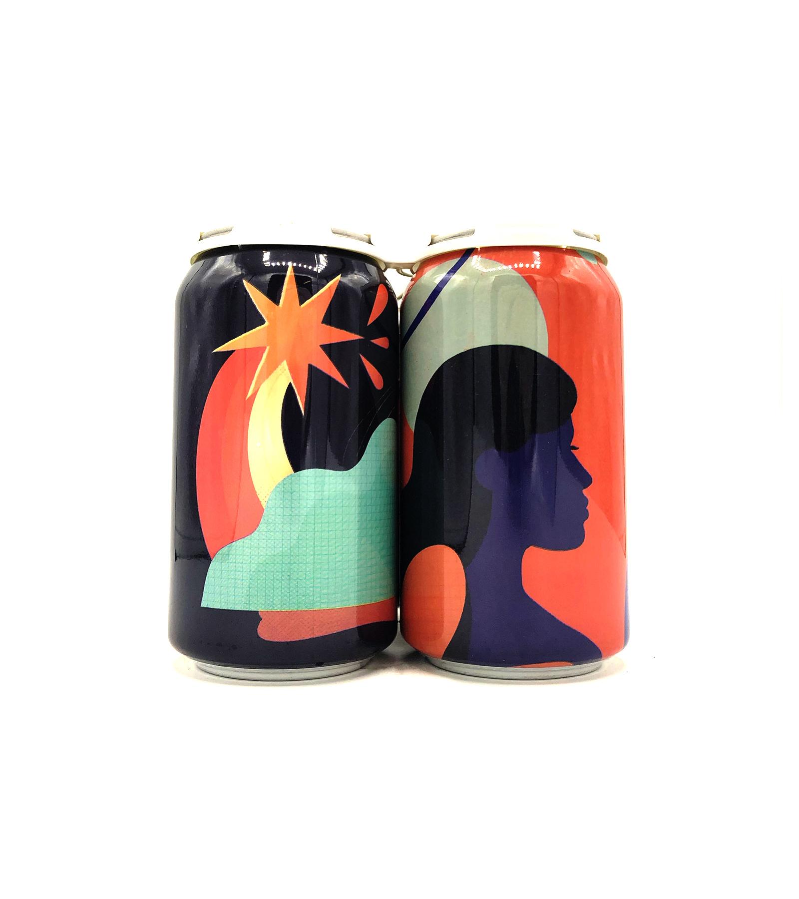 Pink Gin/Raspberry & Bitter Orange 12oz (can) Collective Arts Distilling