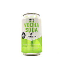 Fugu Lime Vodka Soda 12oz (can) Cutwater