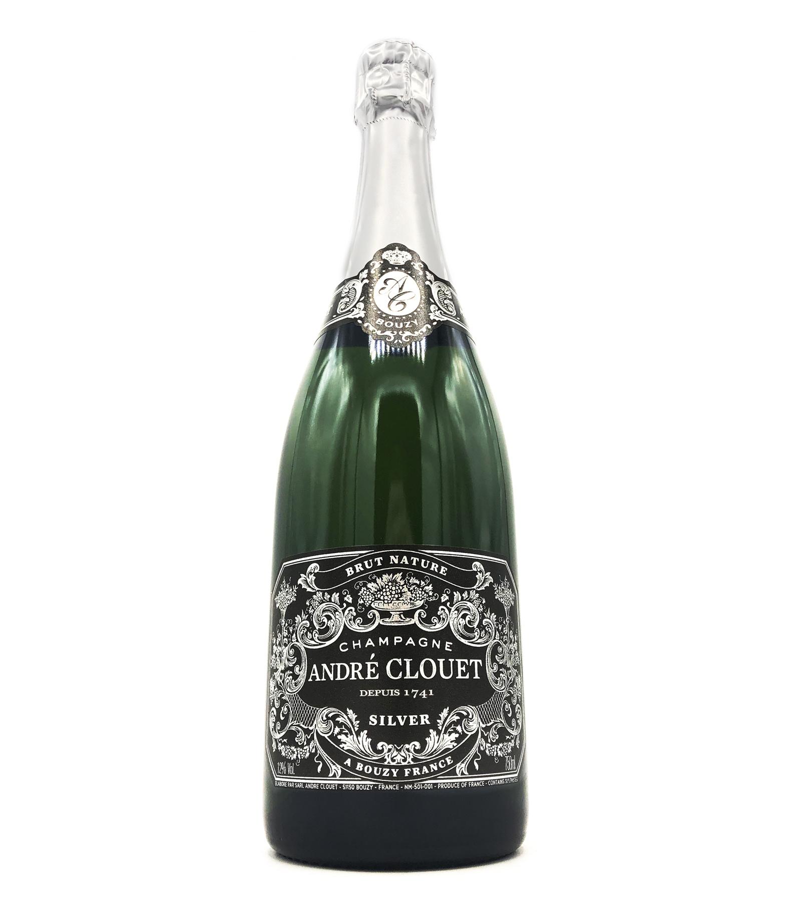 Champagne Silver Brut Nature NV André Clouet