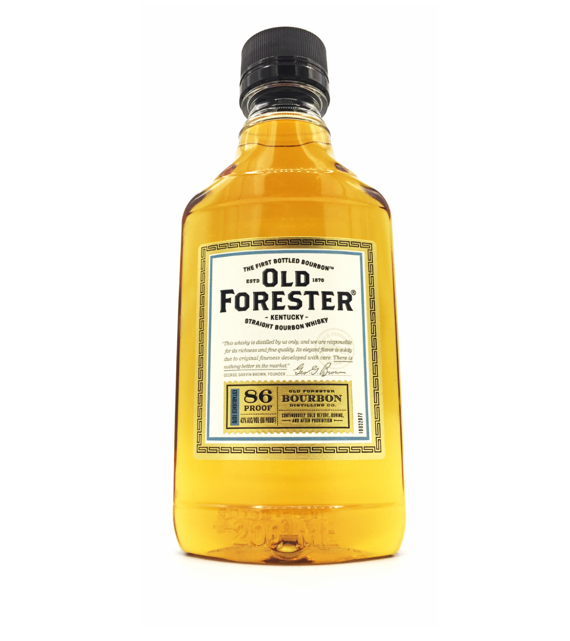 Old Forester Kentucky Straight Bourbon Whiskey 200ml