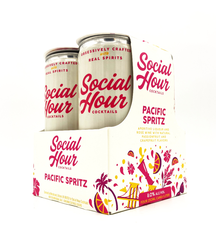 Pacific Spritz 250ml (can) Social Hour Cocktails