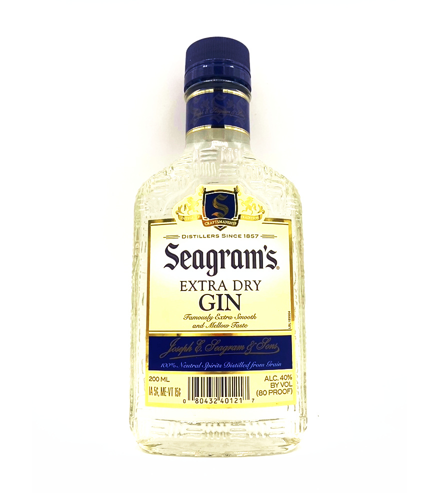 Extra Dry Gin 200ml Seagram's