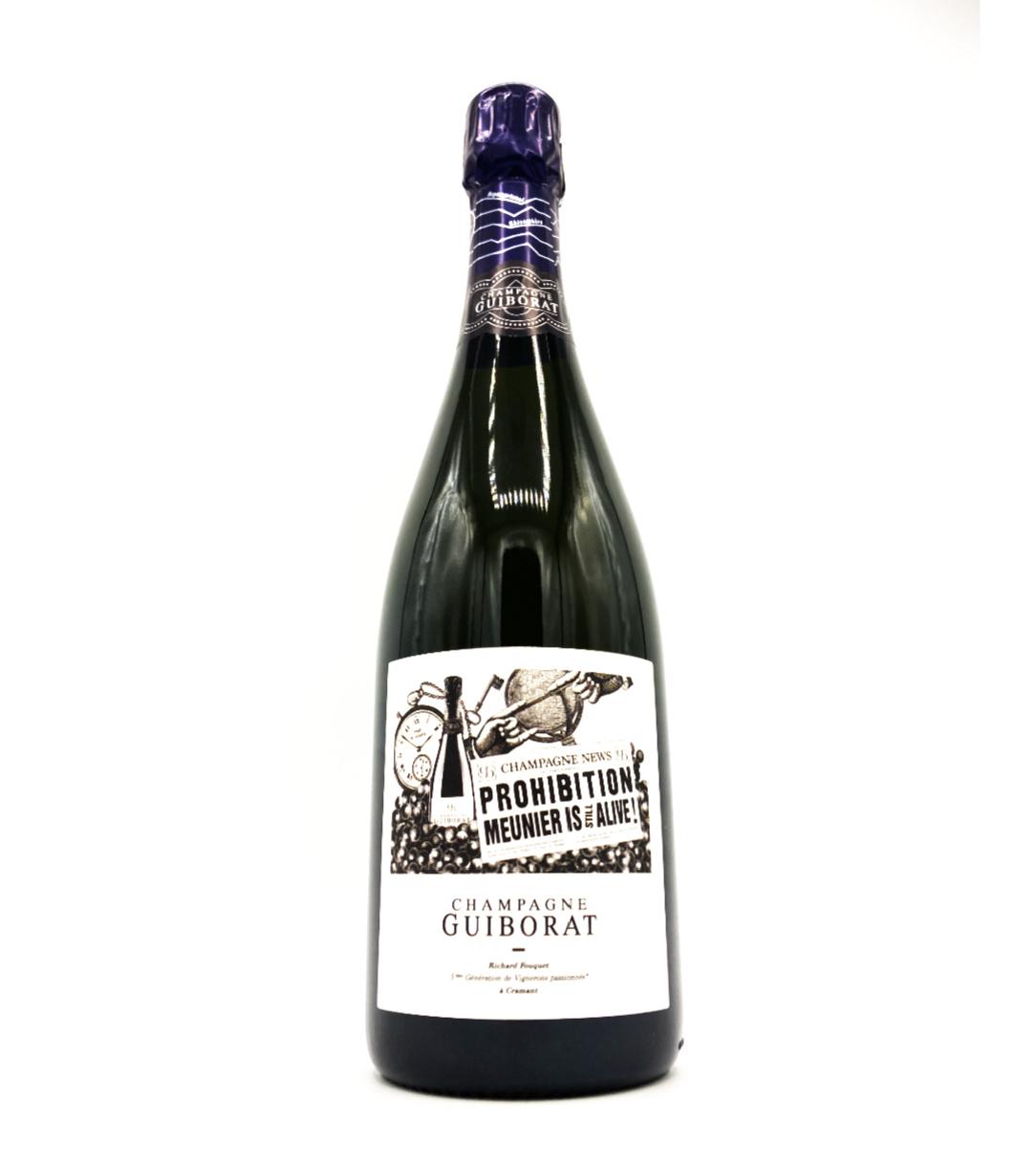 Champagne Extra Brut Prohibition NV Guiborat