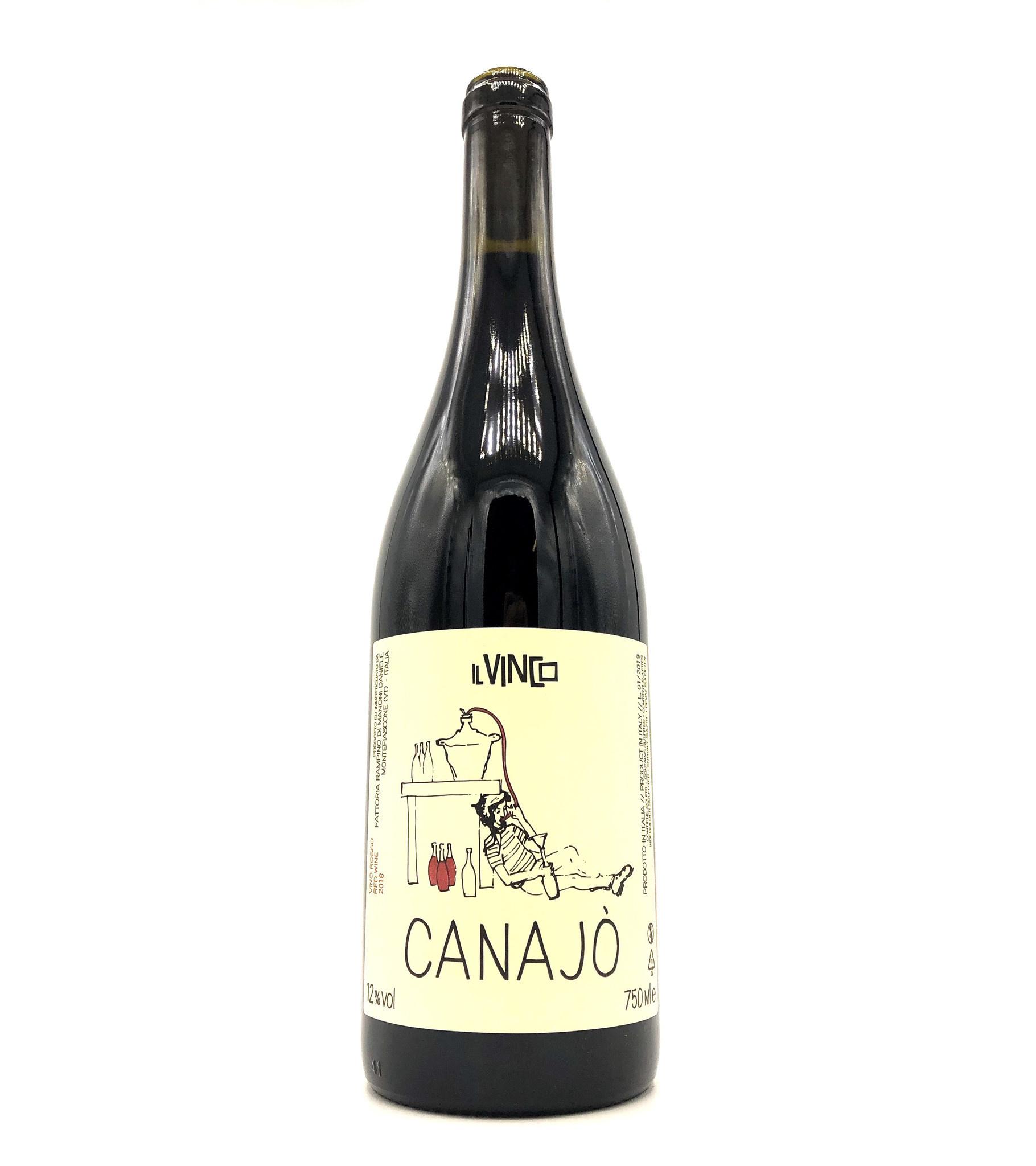 Canajò Vino Rosso 2019 Il Vinco