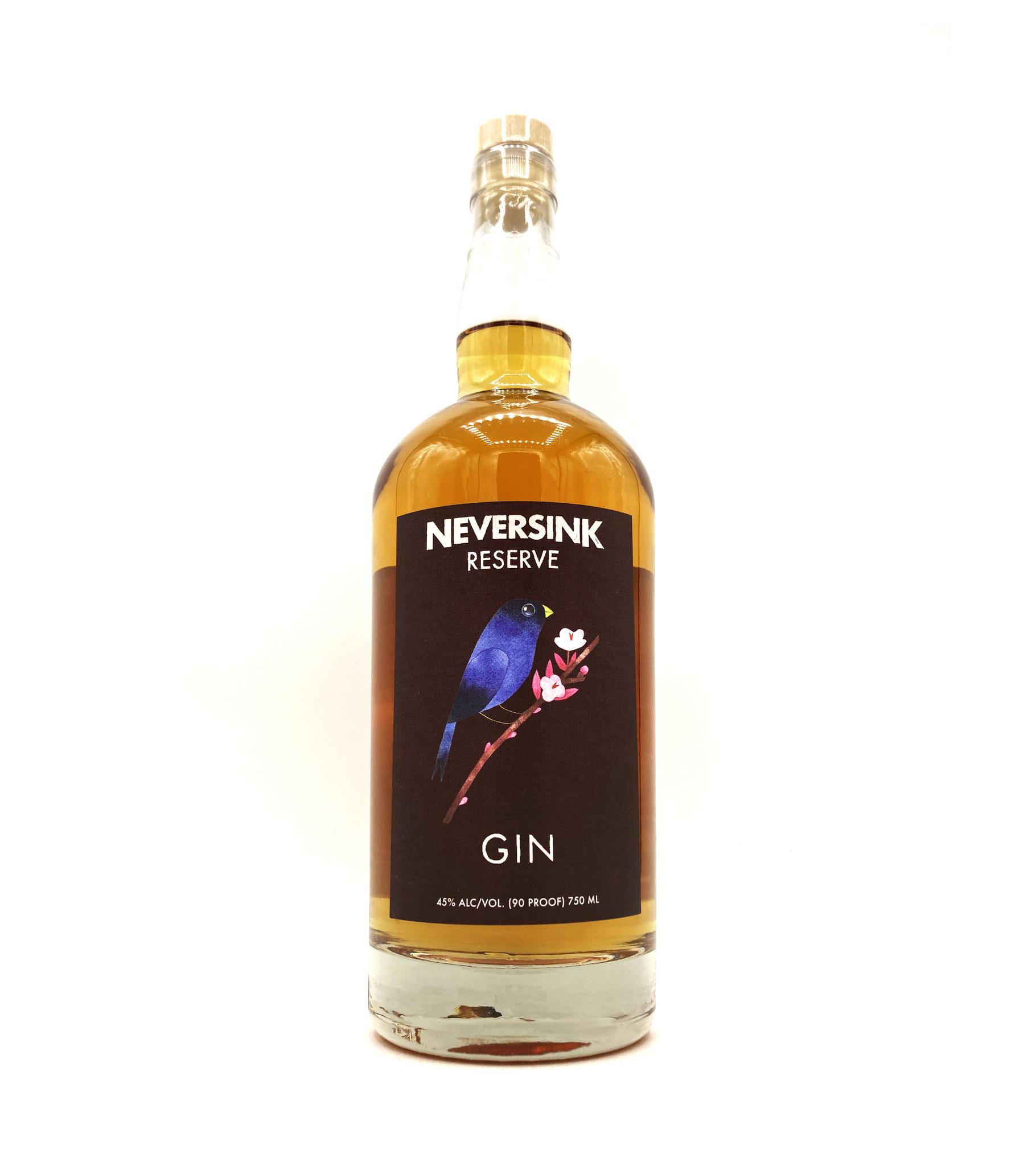 Barrel-Aged Gin Reserve 750ml Neversink