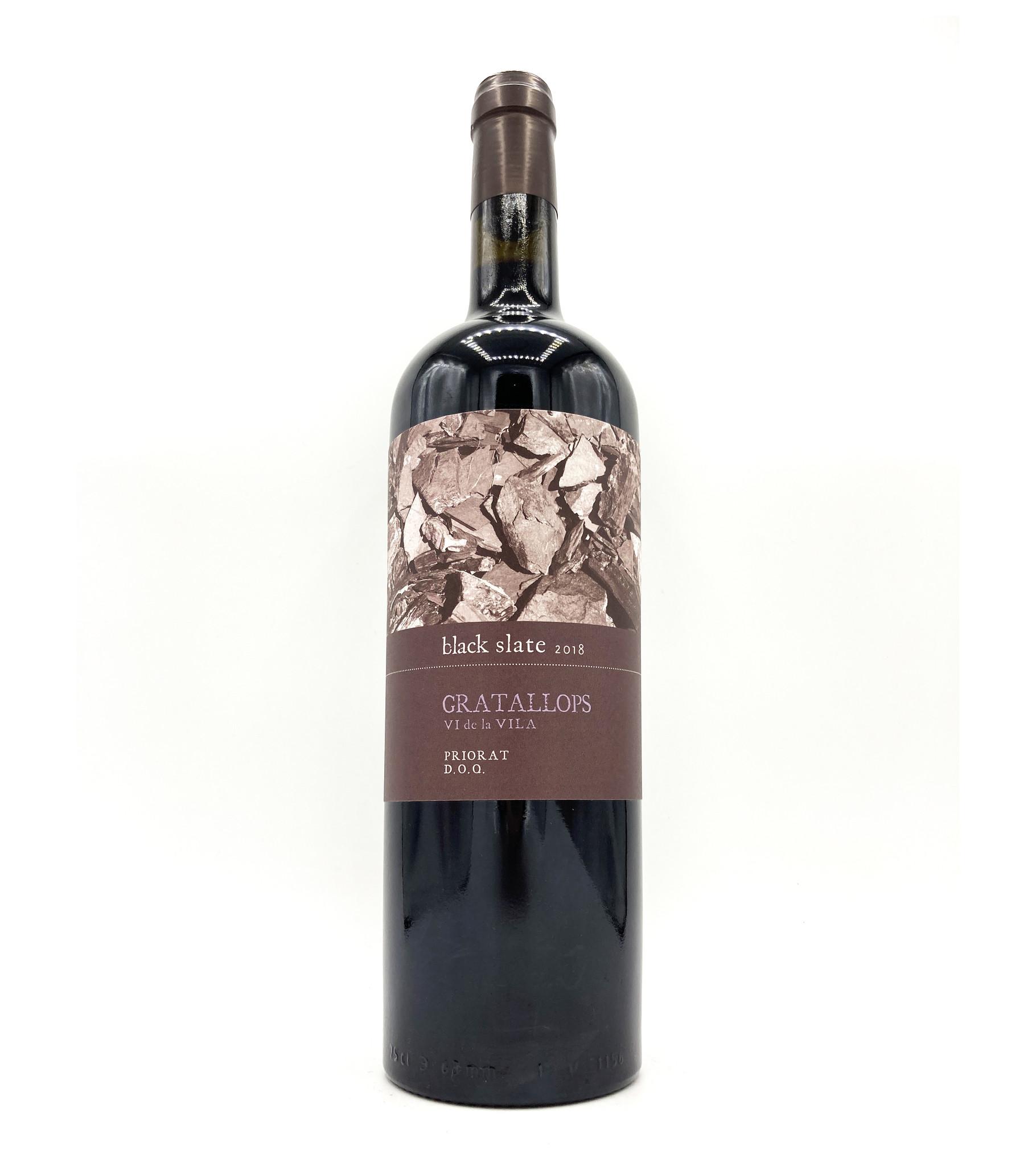 Priorat Black Slate Gratallops 2018 Celler Cecilio