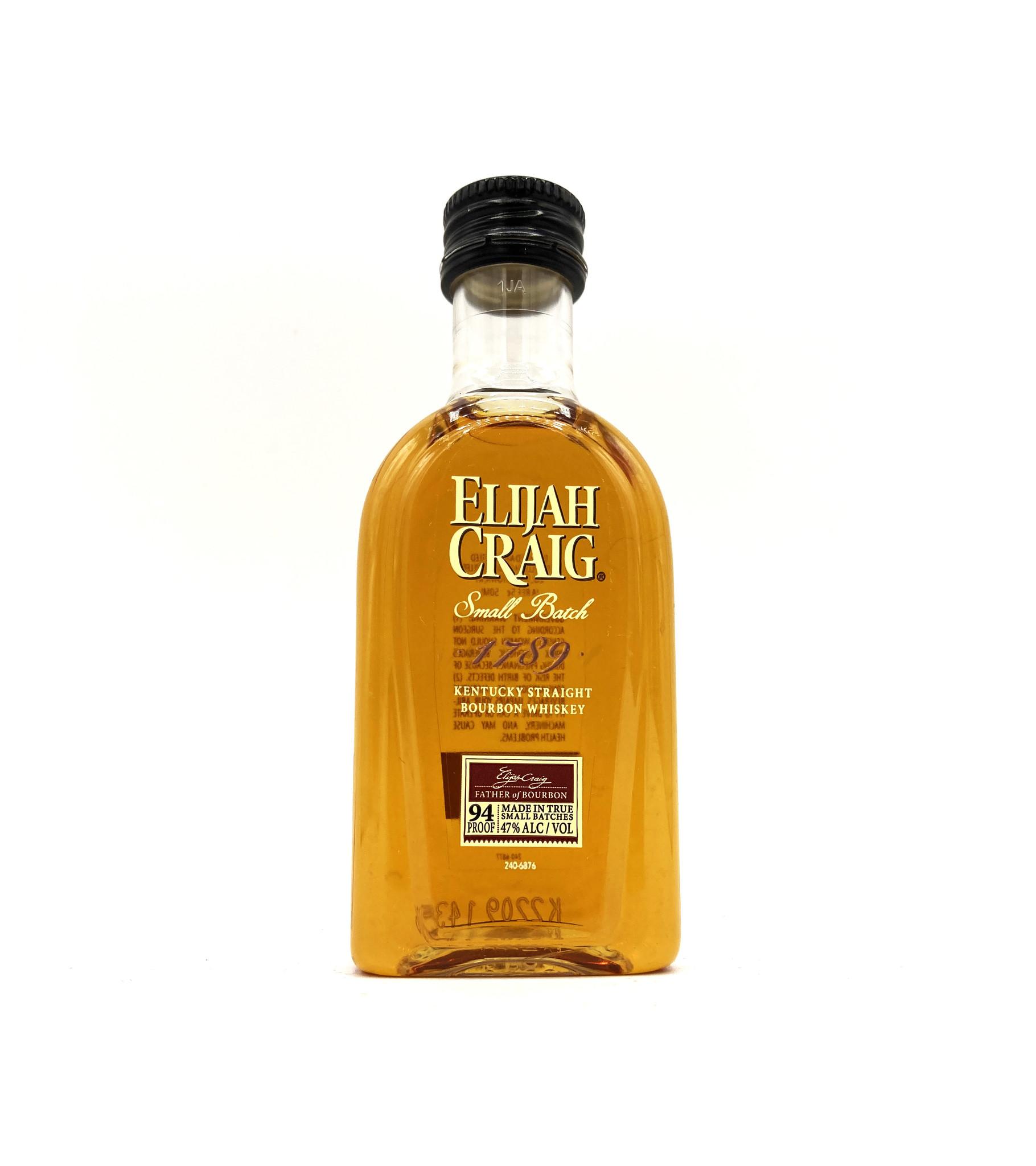 Kentucky Straight Bourbon 50ml Elijah Craig