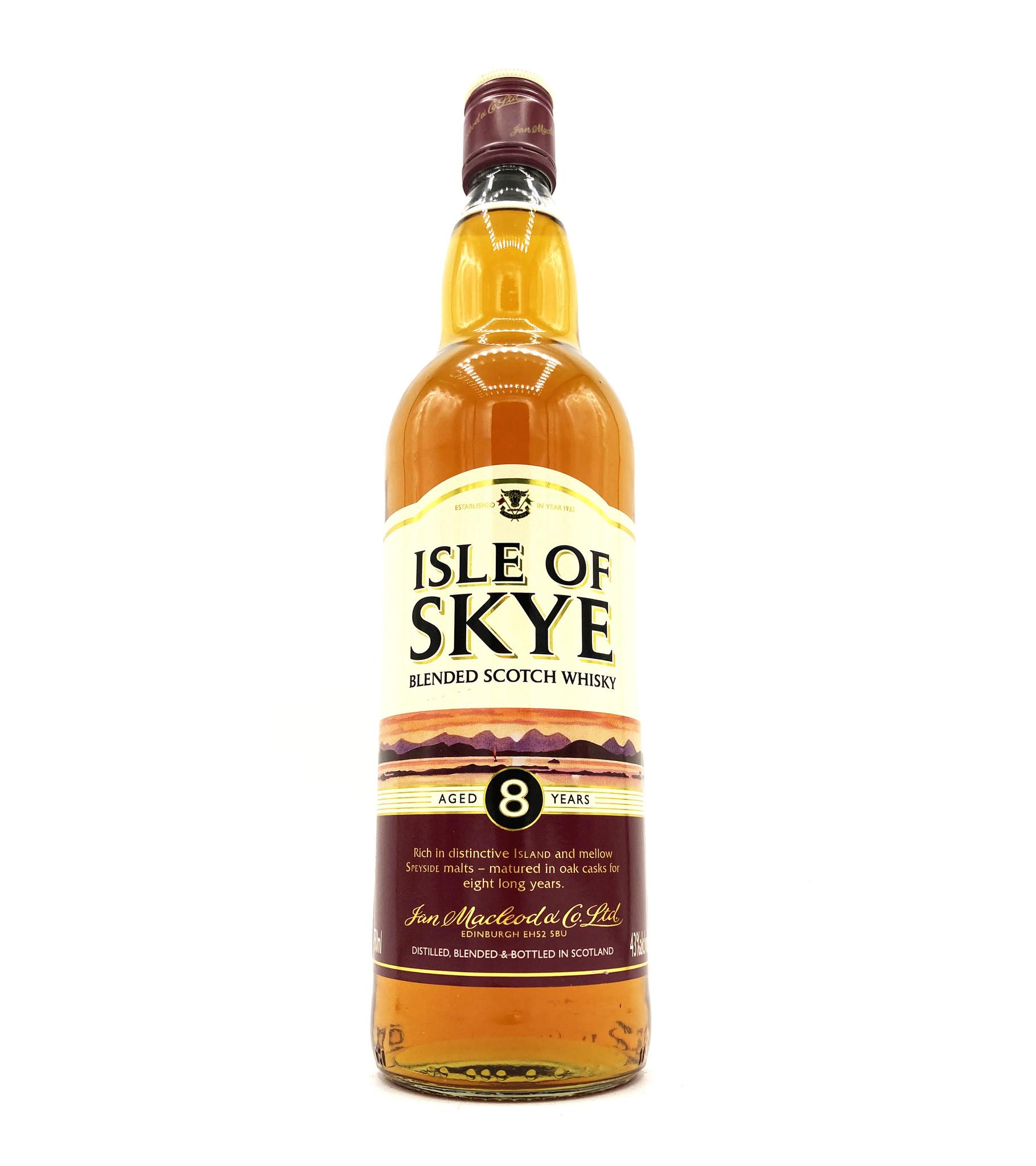 Isle of Skye 8 Year Blended Scotch