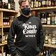 KCW Black Hooded Long Sleeve T-Shirt