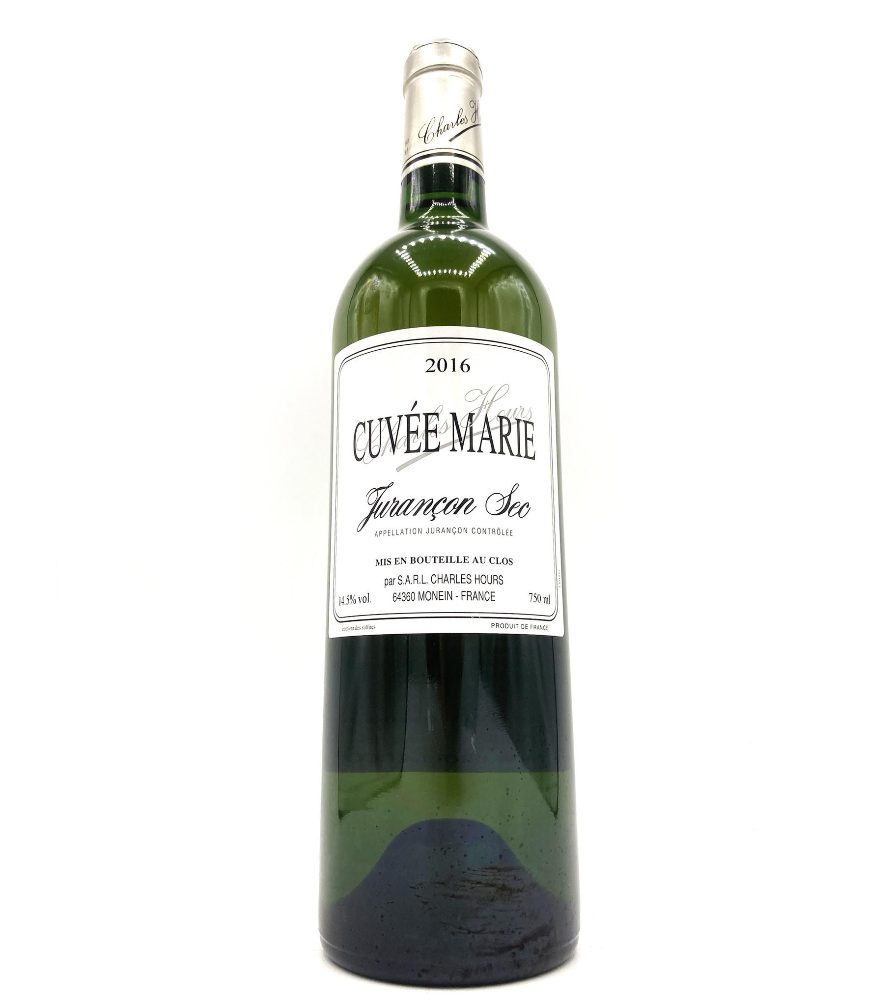 Jurançon Sec Cuvée Marie 2016 Clos Uroulat