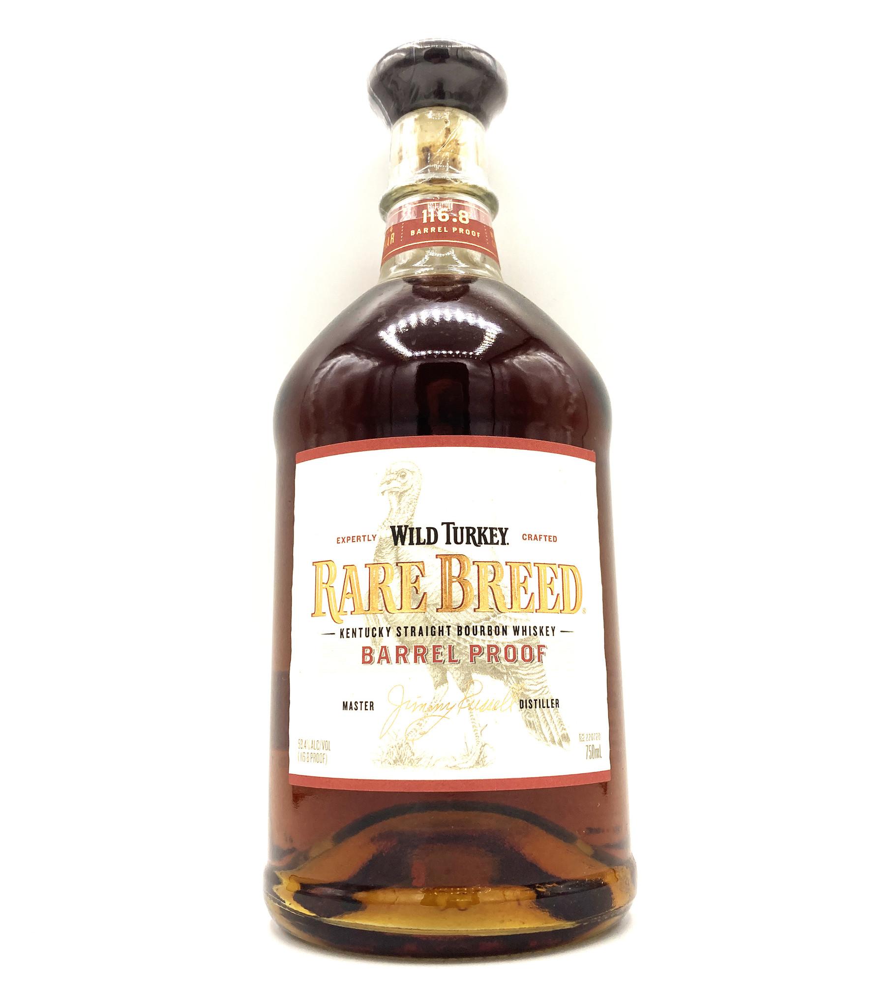 Barrel Proof Straight Bourbon .750 Rare Breed