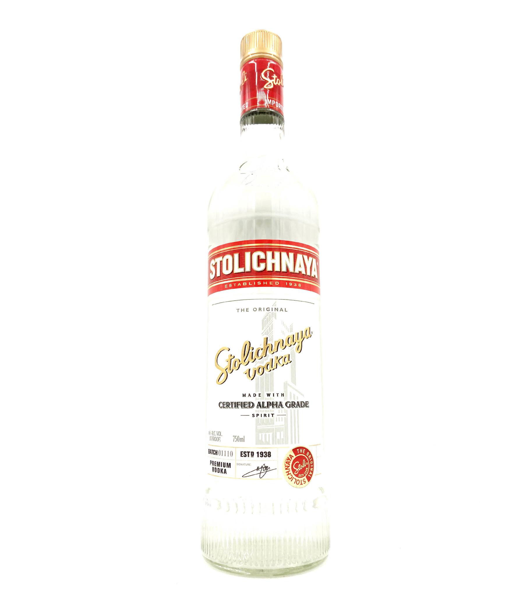 Vodka .750 Stolichnaya