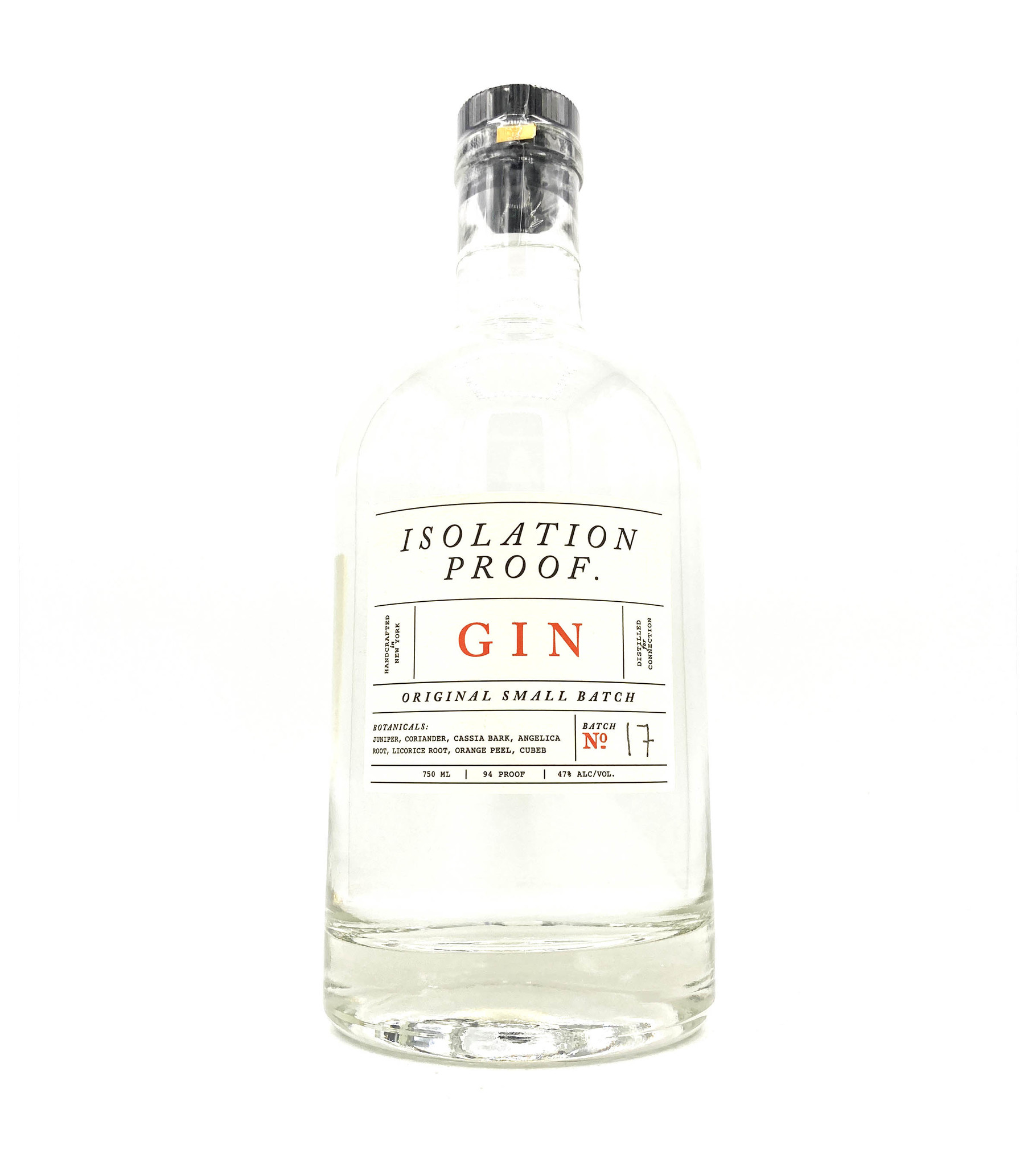 Gin 750ml Isolation Proof
