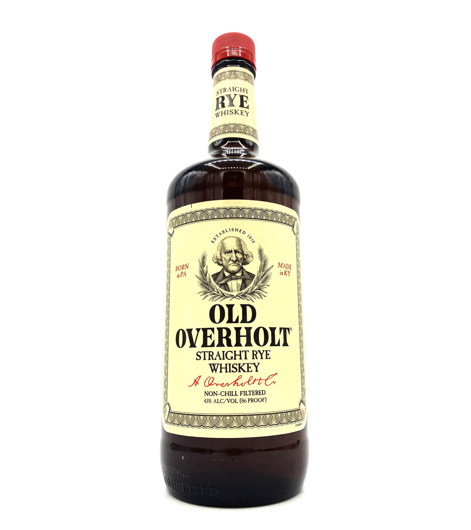Straight Rye 1L Old Overholt