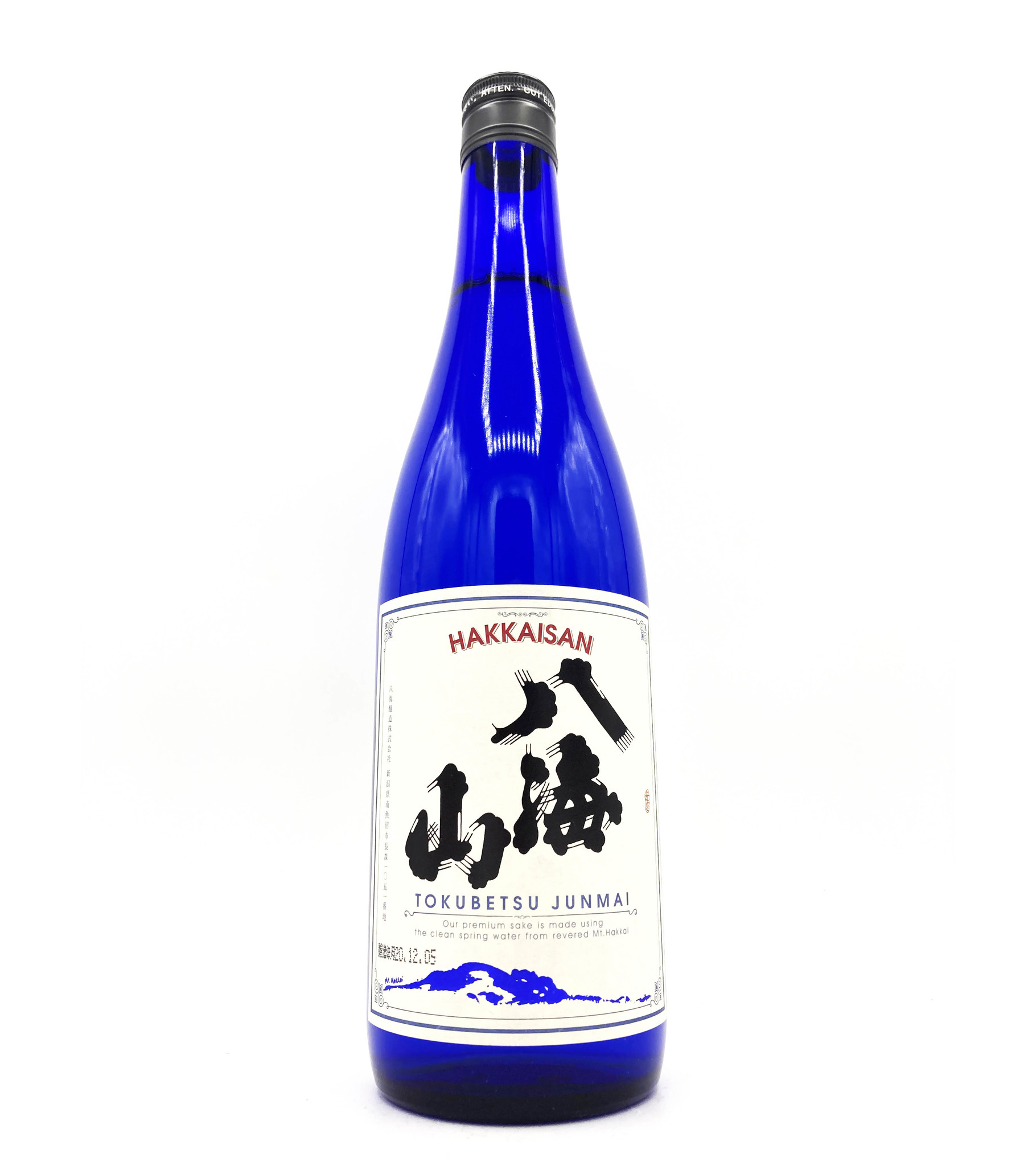 Tokubetsu Junmai 720ml Hakkaisan Sake Brewery