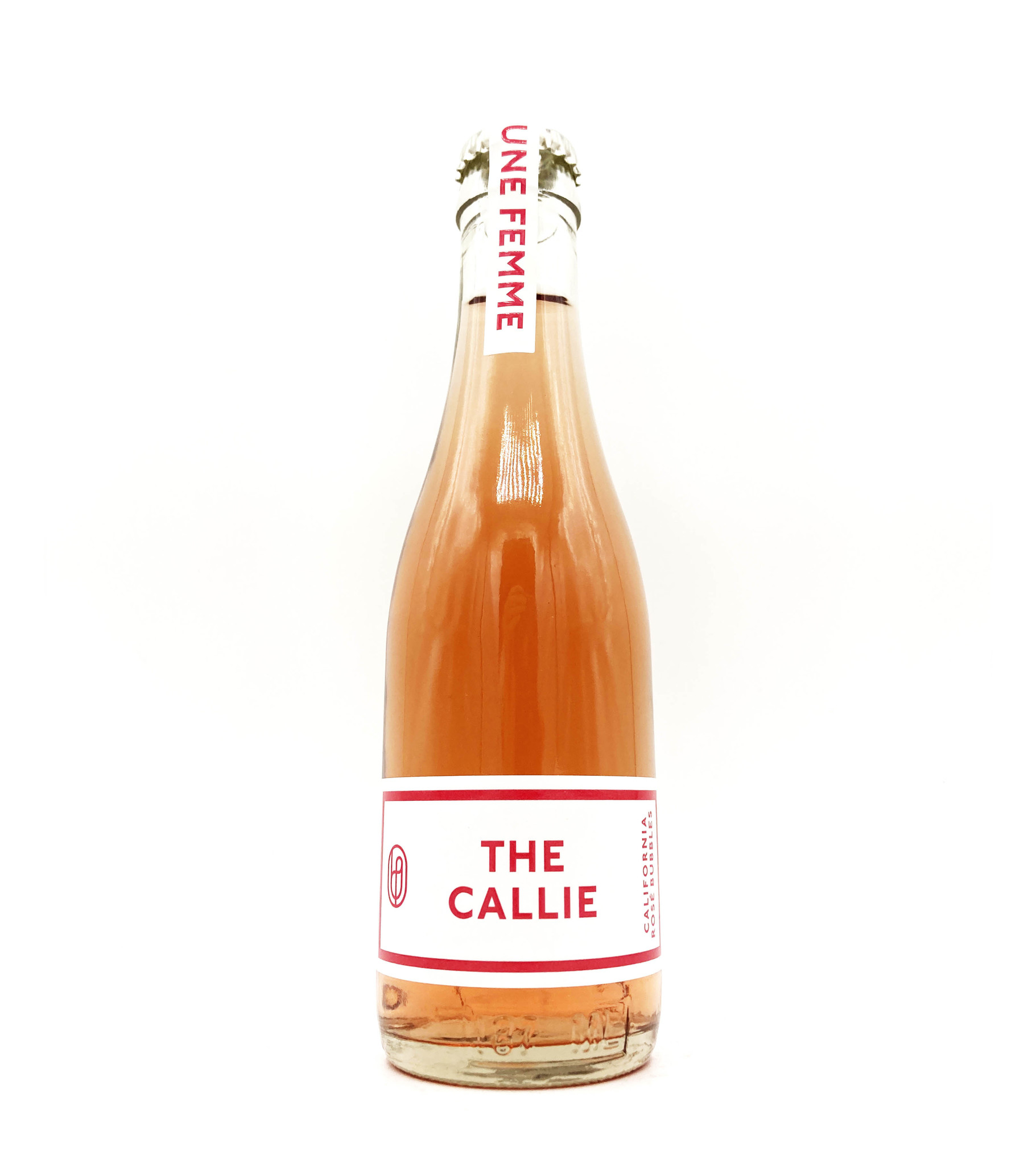 Sparkling Rosé The Callie NV 187ml Une Femme