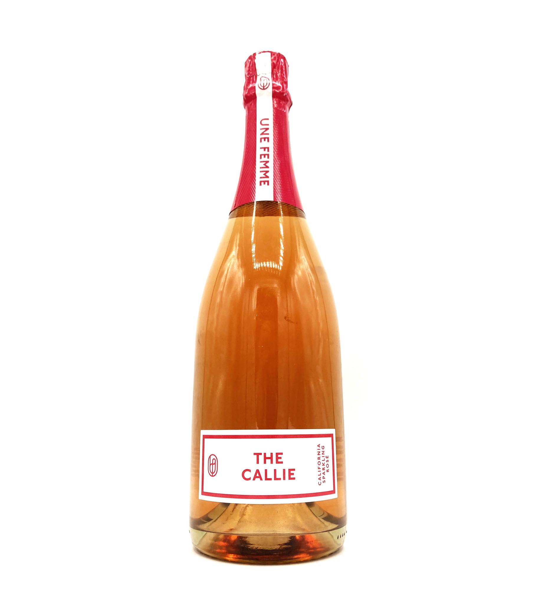 Sparkling Rosé The Callie NV 750ml Une Femme