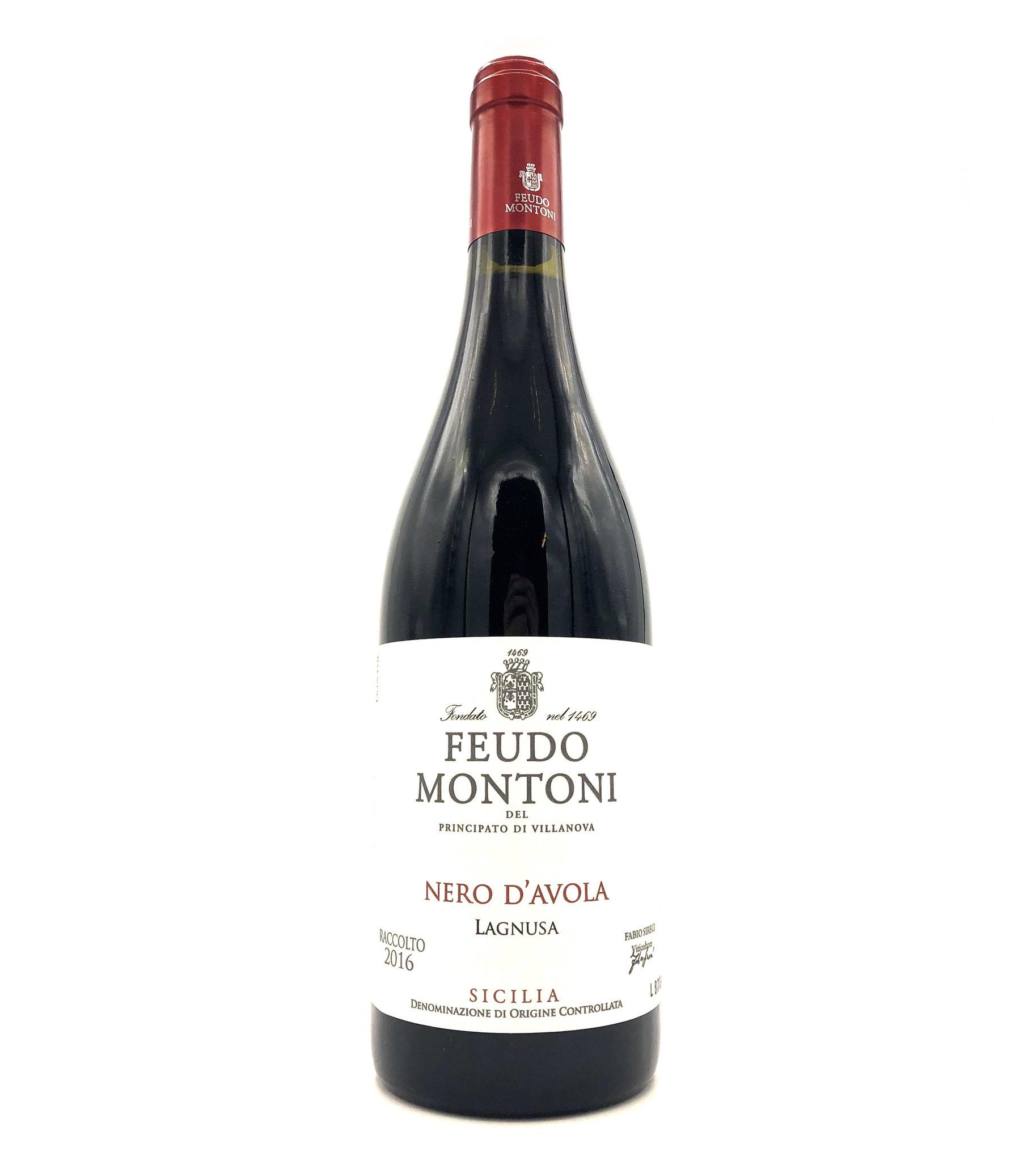 Nero d'Avola 2018 Feudo Montoni