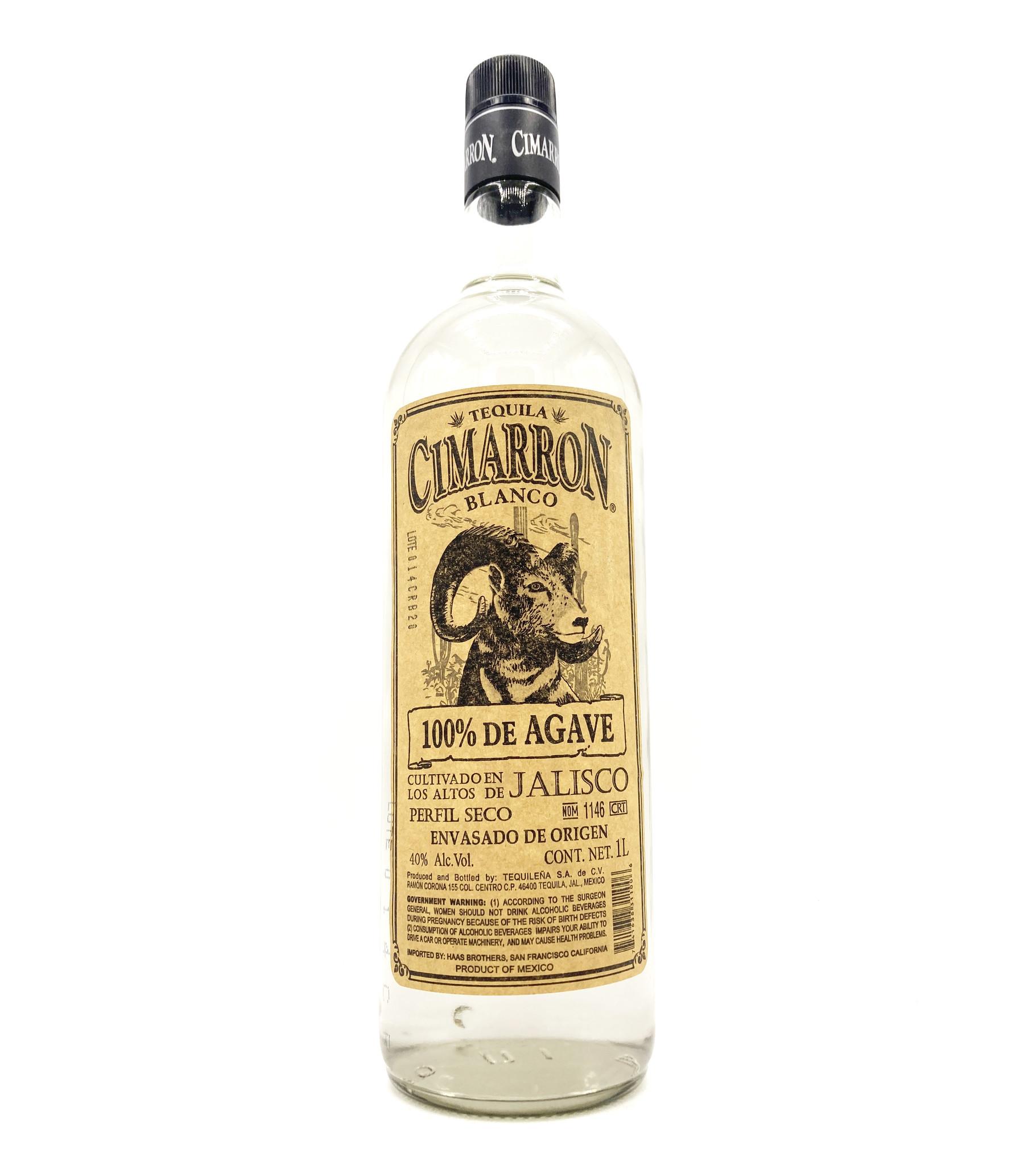 Tequila Blanco 1L Cimarron