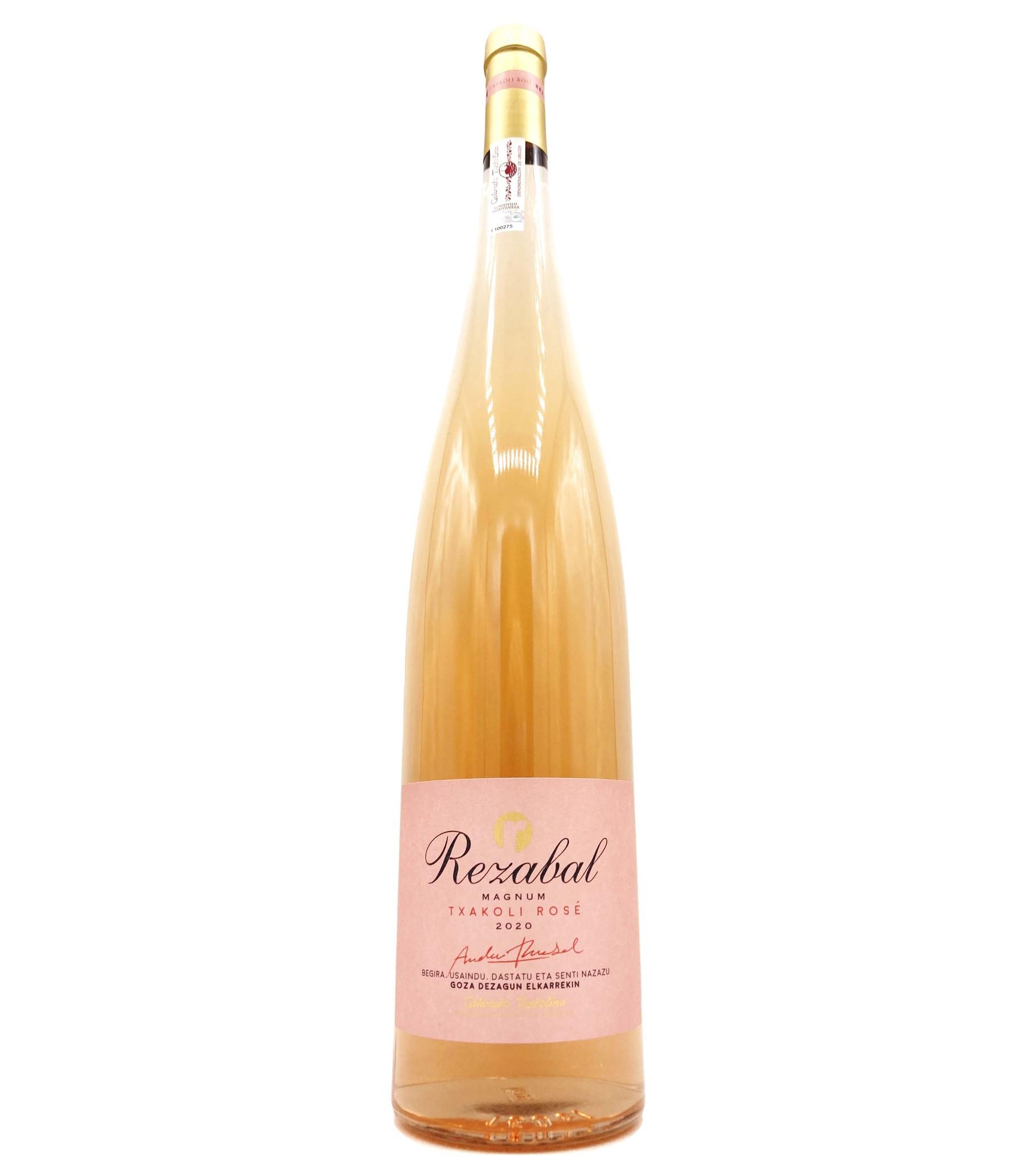 Txakoli Rosé de Getaria 1.5L 2020 Rezabal