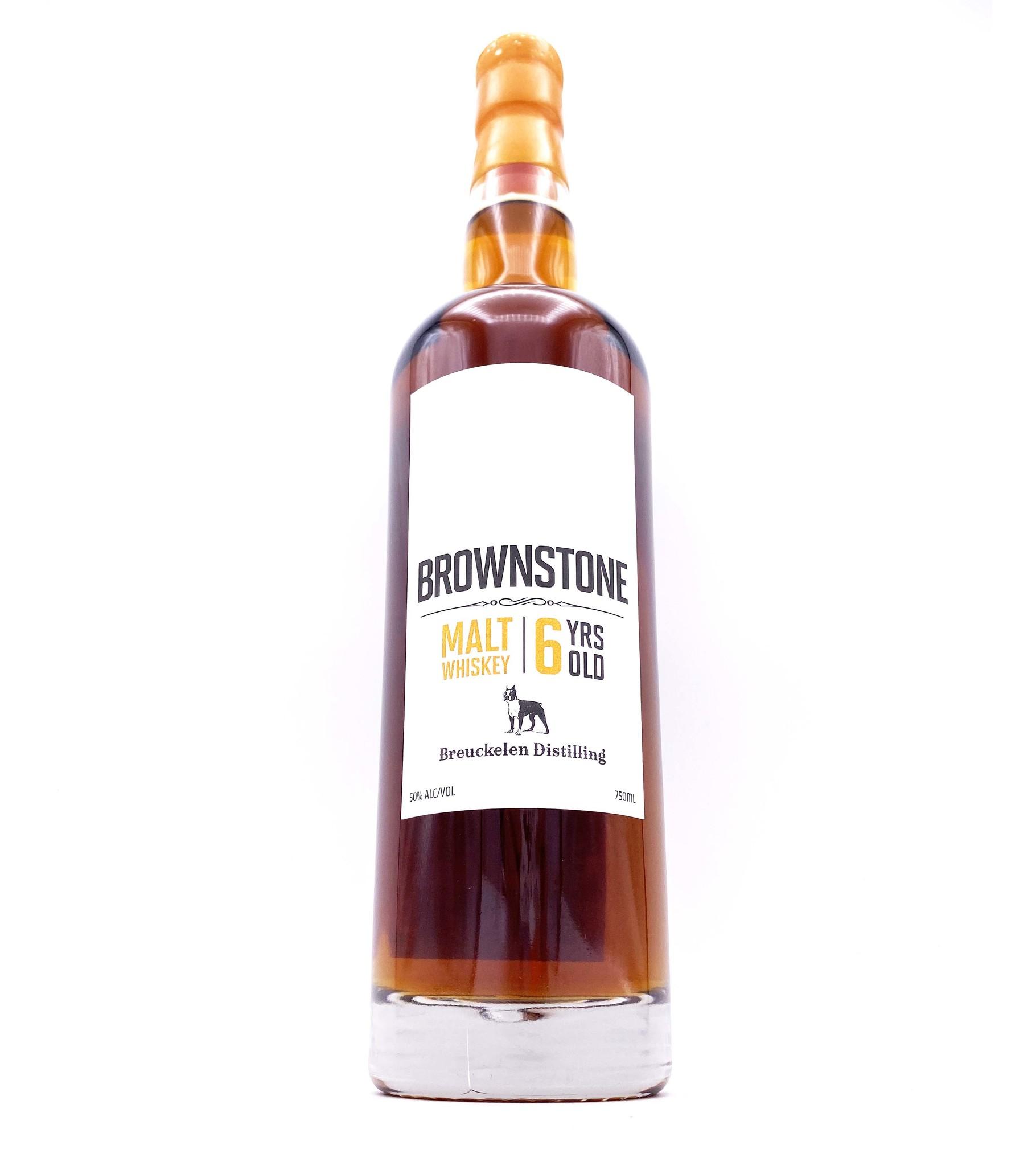 Brownstone Single Malt 6-Year-old Breuckelen Distilling