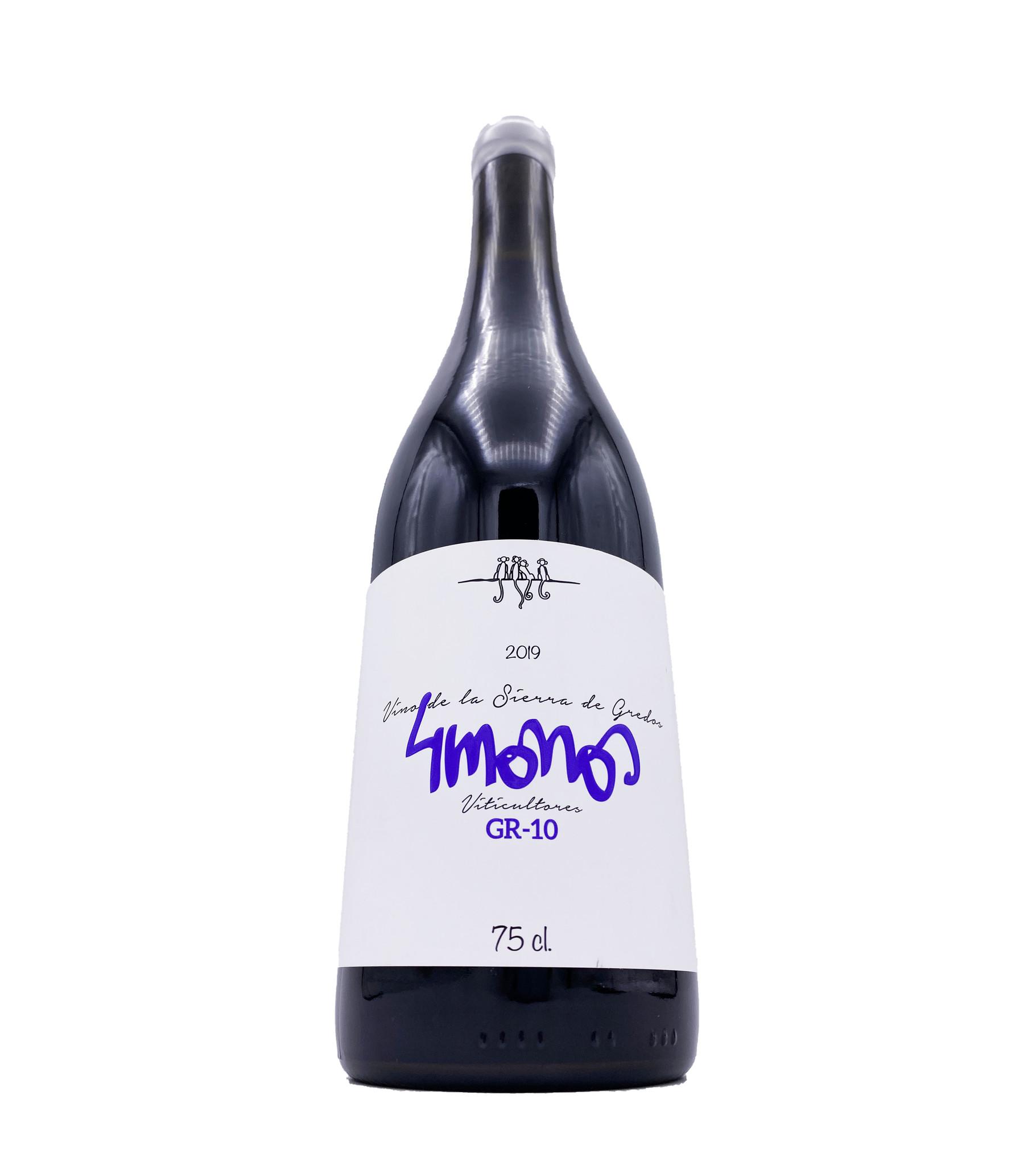 Vinos de Madrid Tinto GR10 2019 4 Monos