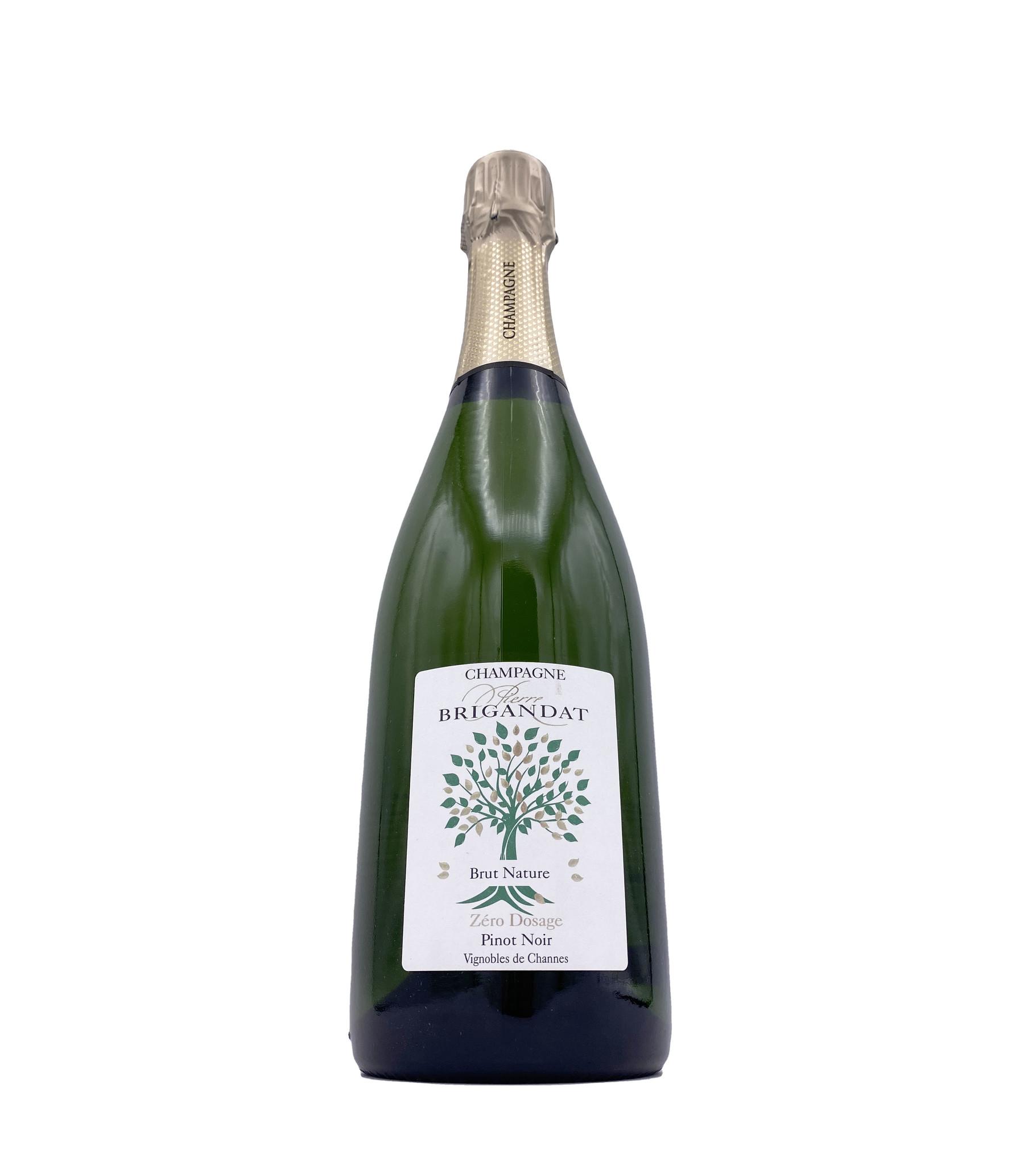 Champagne Brut Nature Blanc de Noirs NV Pierre Brigandat & Fils