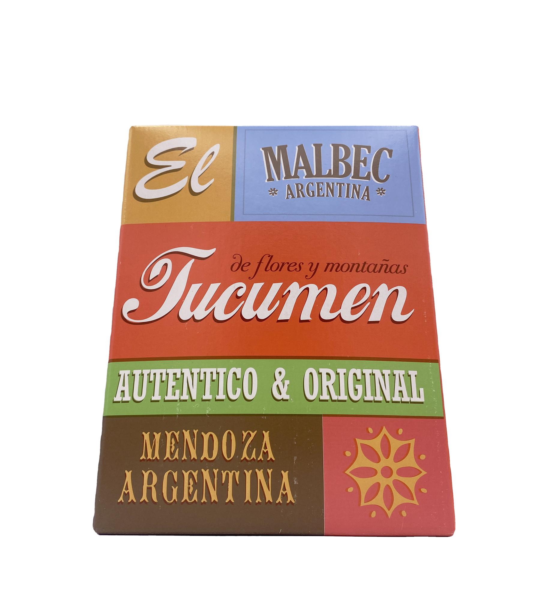 Malbec 2020 3L El Tucumen
