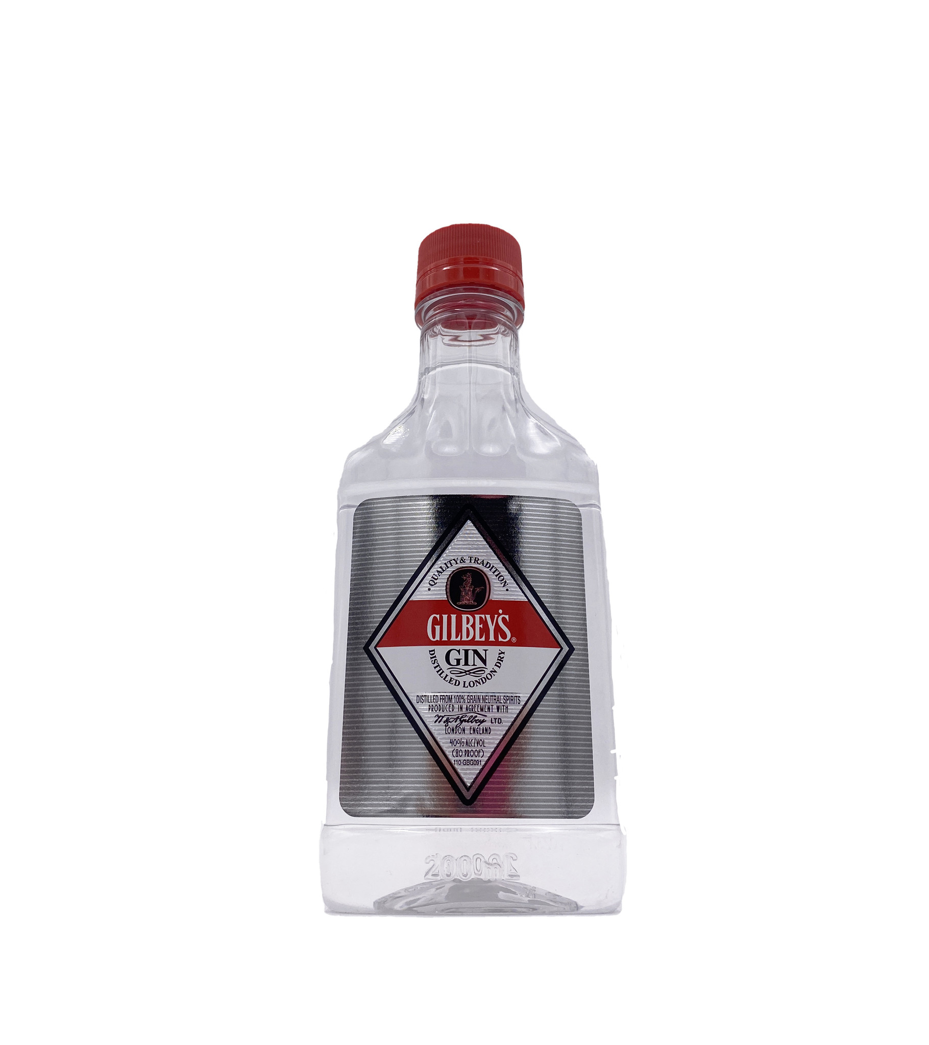 Gilbey's London Dry Gin 200ml