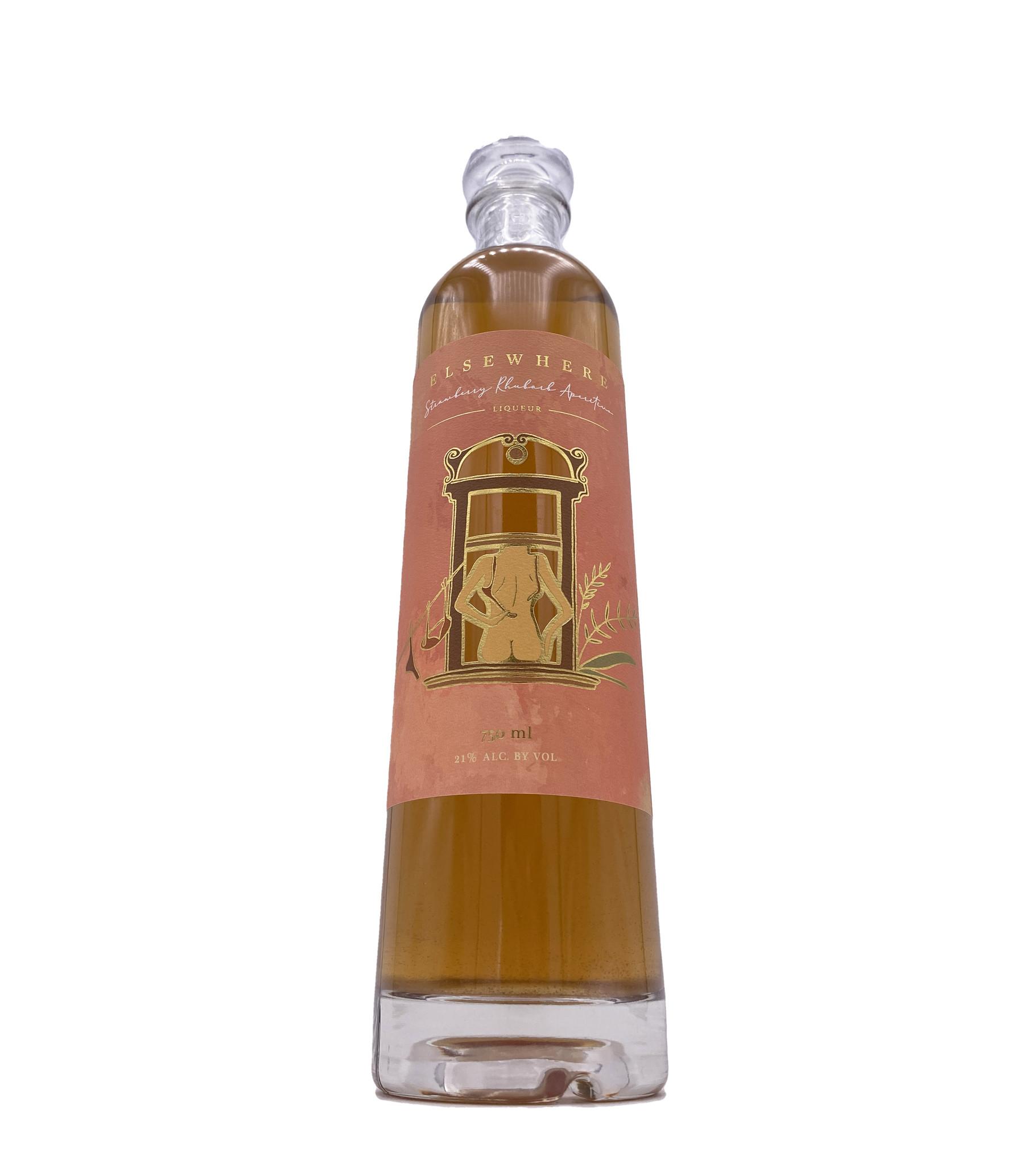 Elsewhere Strawberry Rhubarb Aperitivo, Matchbook Distilling