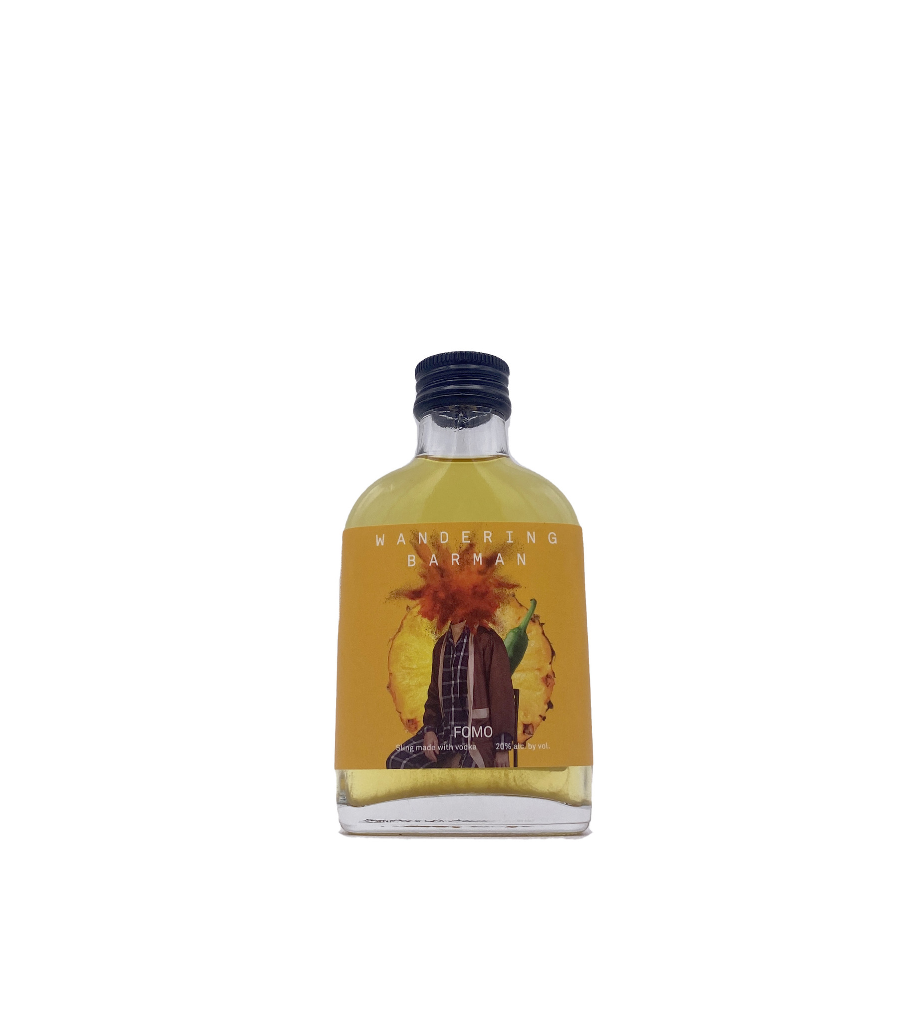 Fomo Vodka Pineapple Sling 100ml, Wandering Barman
