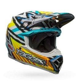 BELL HELMETS Helmet Moto 9 Mips Tagger Assym Yel/Blk Xs
