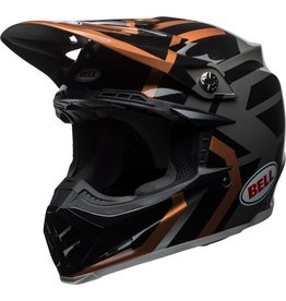 BELL HELMETS Helmet Moto 9 District Blk/Cpr Xs