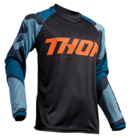 THOR Jersey THOR S9 SECT Camo Blue