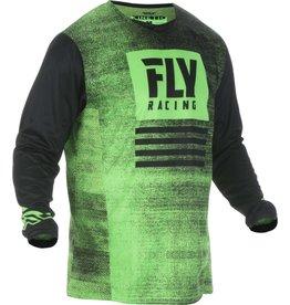 FLY RACING JERSEY FLY RACING KINETIC NOIZ NEON GREEN /BLK
