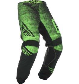 FLY RACING Pants Fly Racing Kinetic Noiz  Neon Green/Blk  Sz 34