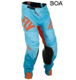 FLY RACING Pants Fly Lite Org Blu Sz 34