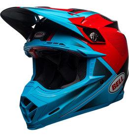BELL HELMETS Helmet Bell Moto-9 Flex Hound Cyn/Red L