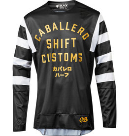 SHIFT 3LACK CABALLERO X LAB JERSEY Black