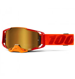 100% Goggle 100% Armega Litkit Gold  Lens