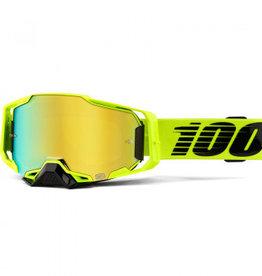 100% Goggle 100% Armega Nuclear Circus Gold Lens