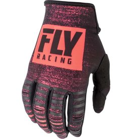FLY RACING Gloves Fly Racing Kinetic Noiz  Neon Red/Black