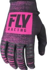 FLY RACING Gloves Fly Racing Kinetic Noiz  Neon Pink/Black