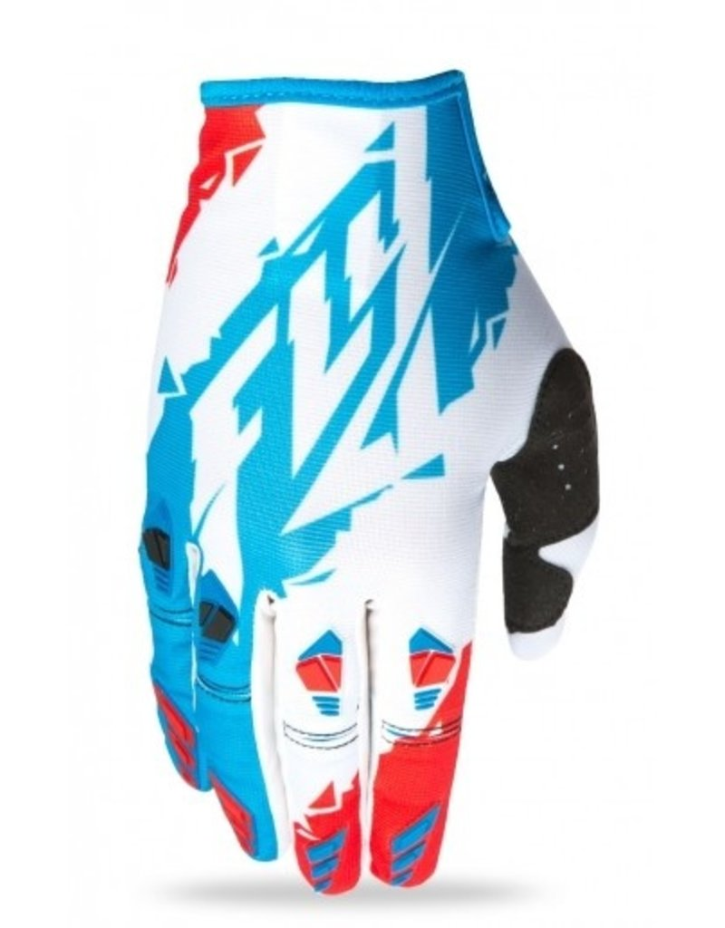 FLY RACING GLOVE FLY KYNETIC RED/WHT/BLU