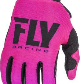 FLY RACING Gloves Fly Racing Women's Pro Liteneon Pink/Black